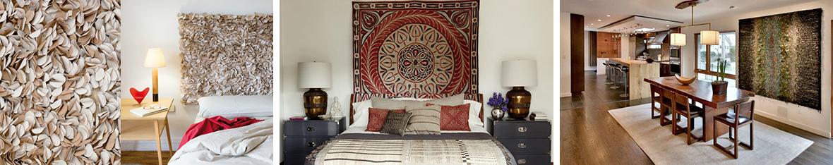 Современные ковры на стену